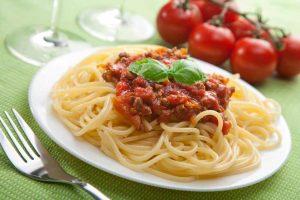 Bolognese in Deutschland als Soße zu Spaghetti