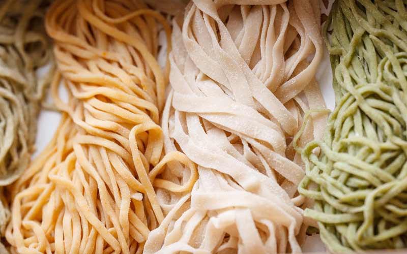 Typische chinesische Nudeln