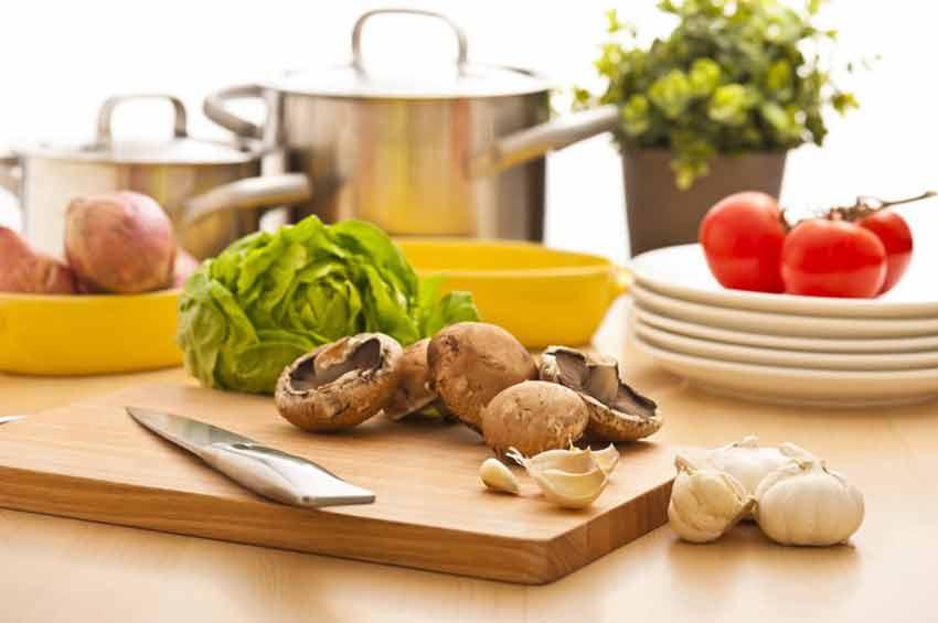 Allzweckhelfer: das Küchenbrett