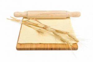 Nudelholz für Nudelteig
